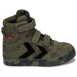 Hummel Chaussures enfant STADIL CAMO - Couleur 36,37,38,30,31,32,33 - Taille Vert