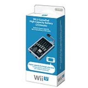 Nintendo Batterie haute capacité pour manette Wii U