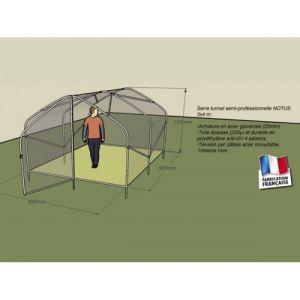 Chalet et Jardin Notus - Serre tunnel 12 m2