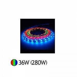 Vision-El BANDE LED 5050 COULEURS IP65 5 M 30 LEDS et 7 2 W / M IP20 MIIDEX 75031