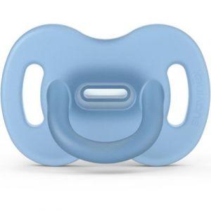 Suavinex Sucette en silicone avec tétine symétrique SX PRO Smoothie bleu (6-18 mois)