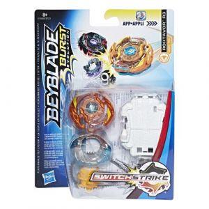 Hasbro Toupie Beyblade Burst Evolution - Toupie + Lanceur SwitchStrike - Roktavor (E1030)