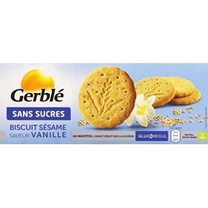 Gerblé Biscuit sésame vanille - Le paquet de 132g