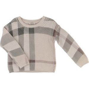 Burberry Pull enfant imprimé check