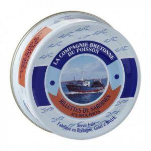 Rillettes de sardine aux 2 épices, (78 Gr)