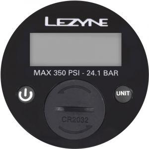 """Lezyne """" manomètre - 2,5"""" Digital 350PSI pour toutes pompes à pied noir Accessoires pompe"""""""