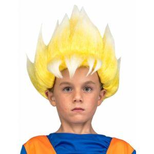 Perruque Super Saiyan Goku Dragon Ball Enfant