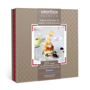 Smartbox Tables étoilées et tables d'excellence - Coffret cadeau 215 restaurants