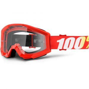 100% Strata Furnace Clear lens - Masque cross