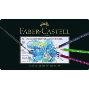 Faber-Castell Boîte de 36 crayons aquarellables mine de 3,8 mm diamètre