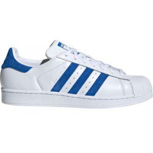 Adidas Superstar chaussures blanc bleu T. 39 1/3