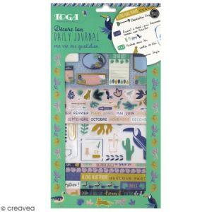 Toga Kit Bullet Journal - Jungle Tropical - 4 pcs