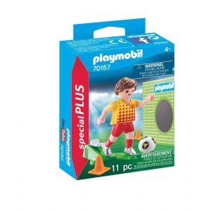 Playmobil 70157 - Joueur de foot et but Special Plus