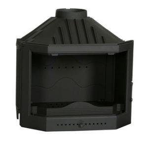 Ferlux 720 - Insert foyer de cheminée prysmatique en fonte 12 kw