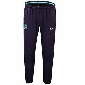 Nike Pantalon de football FC Barcelona Dri-FIT Squad pour Homme - Pourpre - Taille M