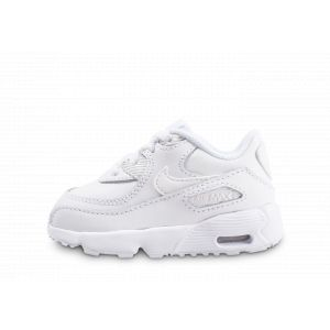 Nike Chaussure Air Max 90 Leather pour Bébé/Petit enfant - Blanc - Taille 26