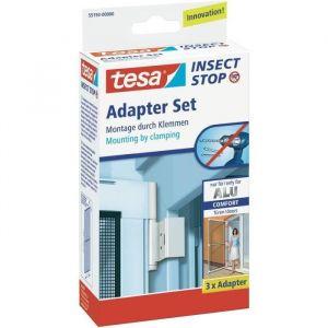 Tesa Set adaptateur pour moustiquaire pour lintérieur/extérieur Adapter Alu Comfort 55193-00 3 pc(s)
