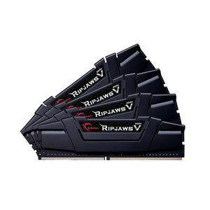 G.Skill F4-3466C16Q-32GVK - Barrette mémoire RipJaws 5 Series Noir 32 Go (4x 8 Go) DDR4 3466 MHz CL16