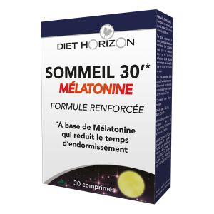 Diet Horizon Sommeil 30' mélatonine 30 cpés