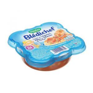Blédina Blédichef Cocotte de légumes, pâtes et saumon du pacifique - 260 g - Dès 24 mois