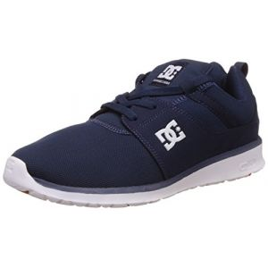 DC Shoes Heathrow, Sneakers Basses Homme - Bleu - Blau (Navy - NVY), 43