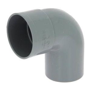 Adequa Coude PVC mâle-femelle 87°30 O100