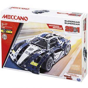 Meccano Supercar Coffret 25 modèles motorisés