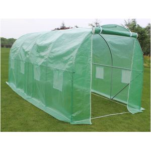 Viva Green Althea - Serre tunnel de jardin 9m² (4.5 x 2 x 2 m)
