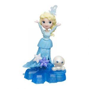 Hasbro Figurine La Reine des Neiges Disney Little Kingdom : Roule à toute vitesse Elsa