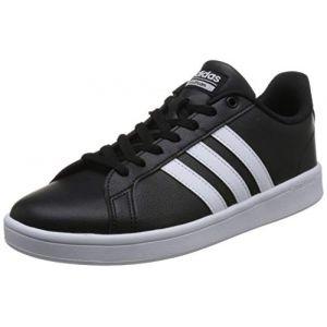 Adidas CF Advantage, Chaussures de Fitness Homme, Noir (Negbás/Ftwbla / Ftwbla 000), 40 2/3 EU