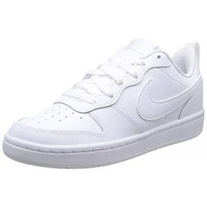 Nike Baskets Court Borough Low 2 Psv - White / White / White - EU 29 1/2