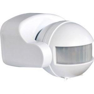 Tibelec Détecteur de mouvement infrarouge blanc