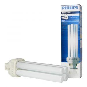 Philips Ampoule Economie d'énergie MASTER PL-C 4P, 13 Watt W / G24q-1 / 827 (Import Allemagne)