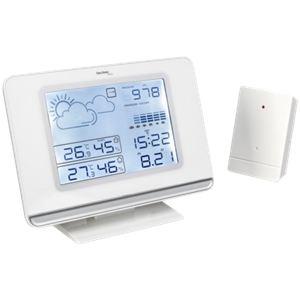 Technoline WS 7019 - Station météo à écran LCD pour température intérieure et extérieure