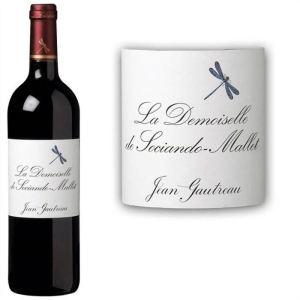 La Demoiselle de Sociando Mallet 2010 - Vin rouge de Bordeaux (AOC Haut Médoc)