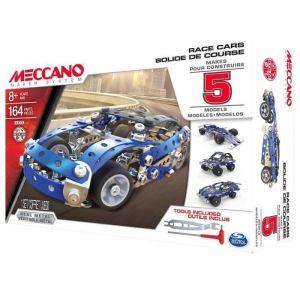 Meccano 6028434 - Voiture de course 5 modèles 164 pièces
