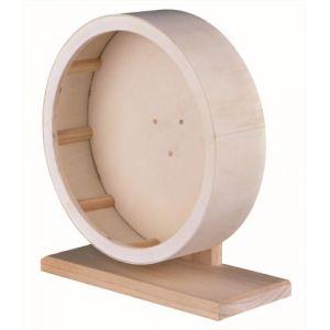 Trixie Roue d'exercice en bois pour rongeurs 28 cm