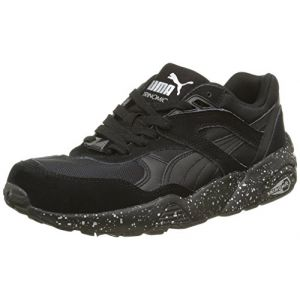 Puma R698 Speckle2, Baskets Basses Mixte Adulte, Noir (Black/Silver), 45 EU