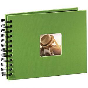 Hama Fine Art Spiral apfelgrün 24x17 50 schwarze Seiten 94880