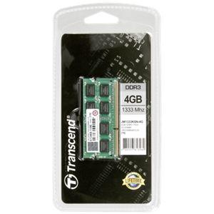 Transcend JM1333KSN-4G - Barrette mémoire JetRAM 4 Go DDR3 1333 MHz CL9 204 broches