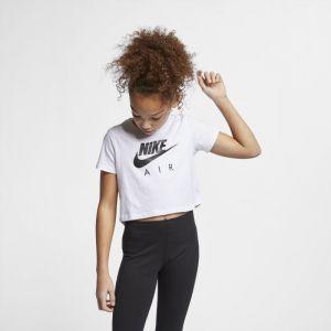 Nike Haut court Air pour Fille plus âgée - Blanc - Taille M