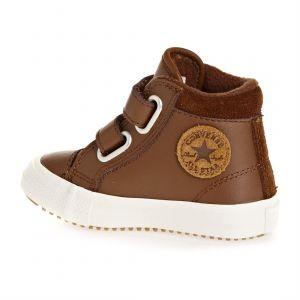 Converse Chaussures enfant CHUCK TYLOR ALL STAR AV PC BOOT - HI Marron - Taille 20,21,22,23,24,25