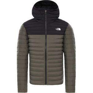 The North Face Stretch Veste à capuche en duvet Homme, new taupe green/tnf black XL Manteaux d'hiver