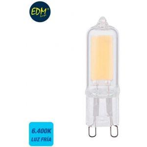 Ampoule led g9 cl ique mat 2w 220 lm 6400k l ière froide edm