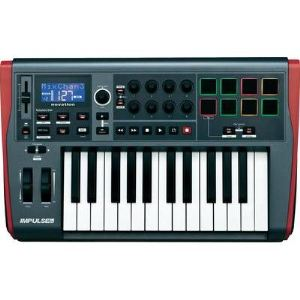 Novation Impulse 25 - Clavier MIDI USB 25 touches