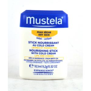 Mustela Stick nourrissant au cold cream peau seche 10.1 ml