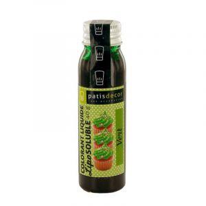 Patisdécor Colorant alimentaire liposoluble - vert - 40 g