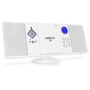 OneConcept V-12-BT - Chaîne stéréo CD USB SD MP3 Bluetooth