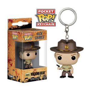 Funko Porte-clé Pocket Pop! The Walking Dead : Rick Grimes
