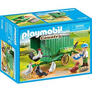 Playmobil 70138 ENFANT ET POULAILLER COUNTRY